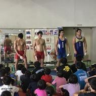釜利谷高校小中高合同練習終了!。明日はグレコとフリーごとで!(2)