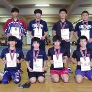 【大会結果】全国高校総体レスリング競技 県予選(2)